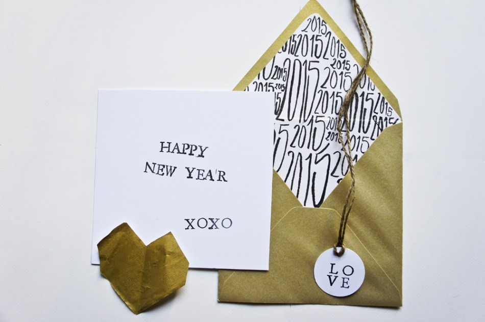 cartes de voeux 2015, happy new year cards by ruban collectif