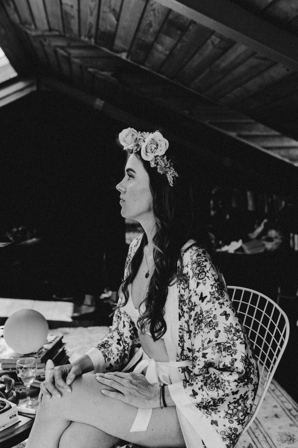 couronne de fleurs oversize par lday brindille pays basque