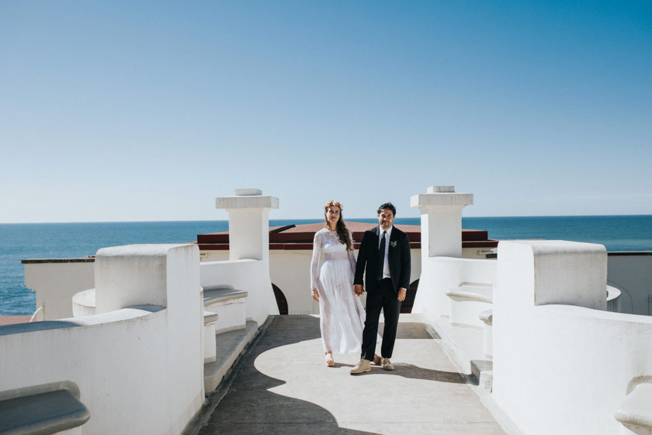 Un mariage alternatif à Guethary