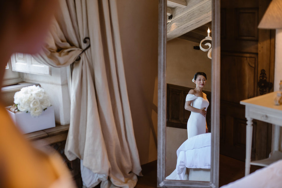 chic wedding in france