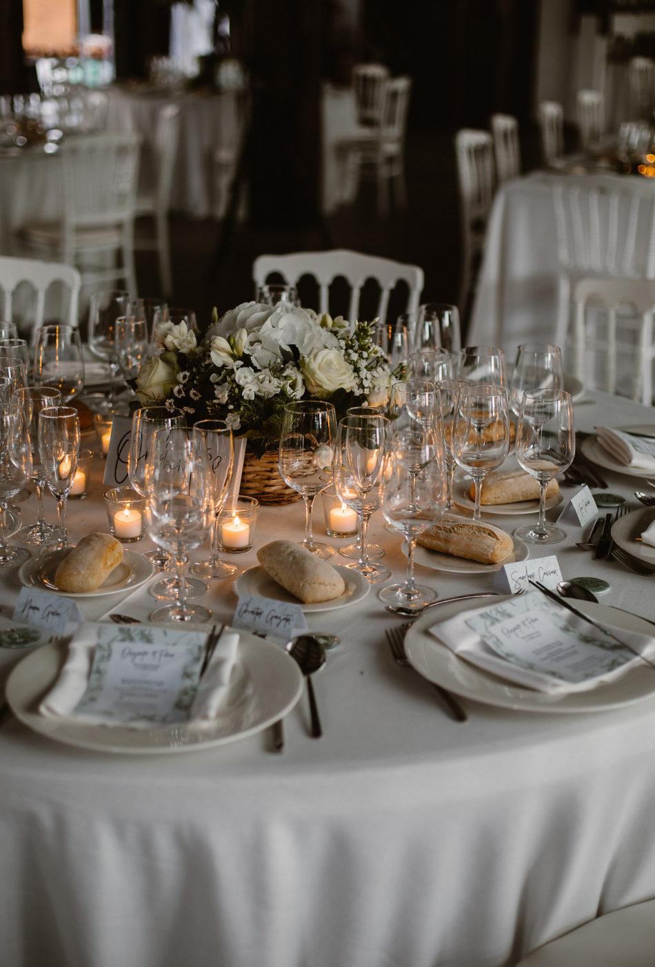 décoration de table chic et champetre