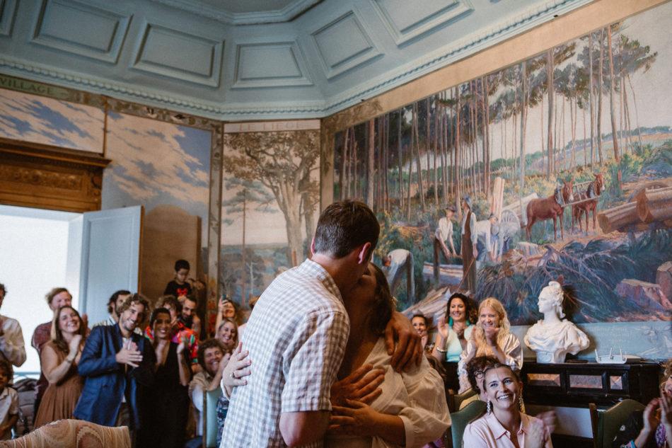 Mariage à la mairie de seignosse