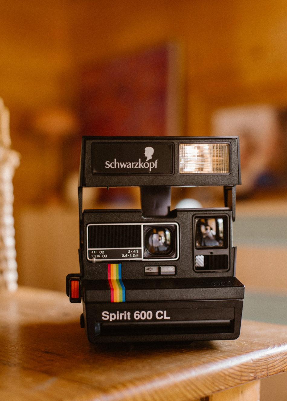 Polaroid mariage