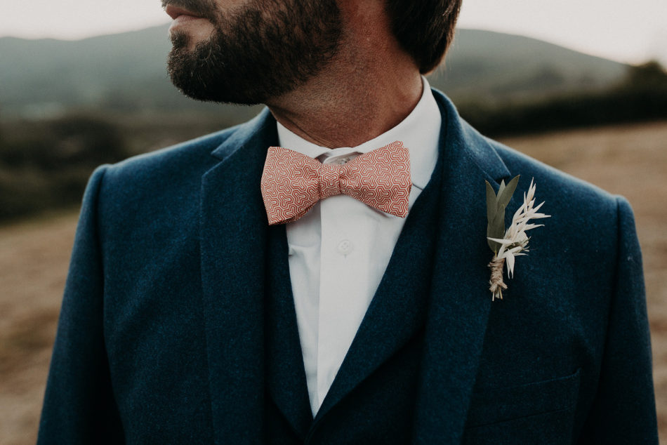 boutonniere simple homme