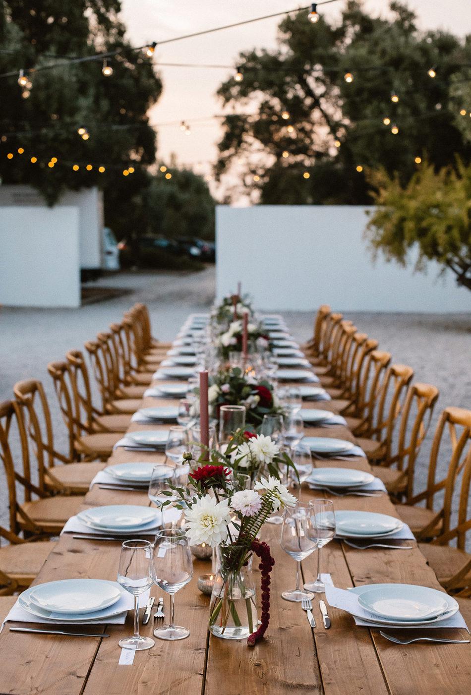 idée deco de table mariage a la plage