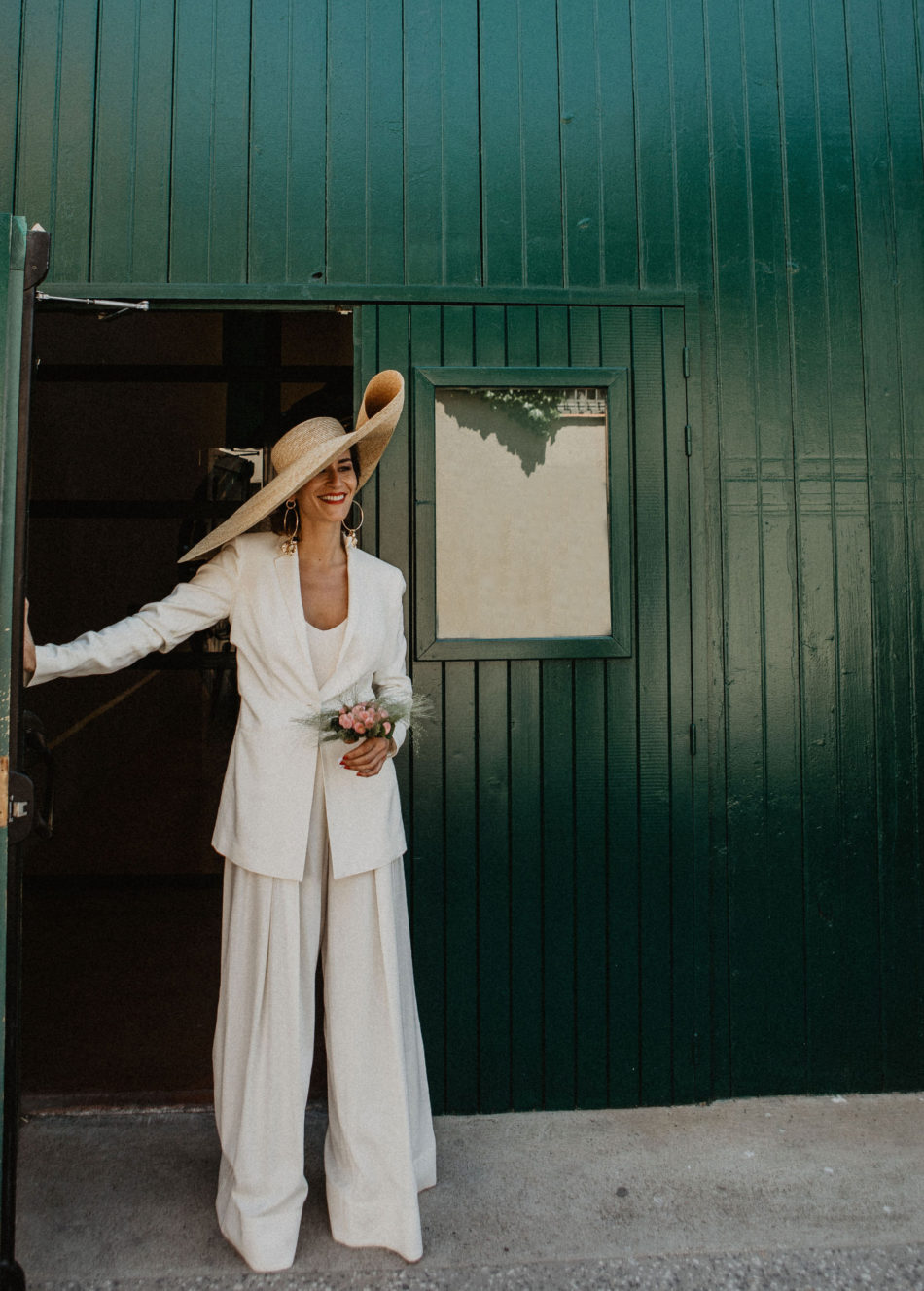 mariage total look jacquemus