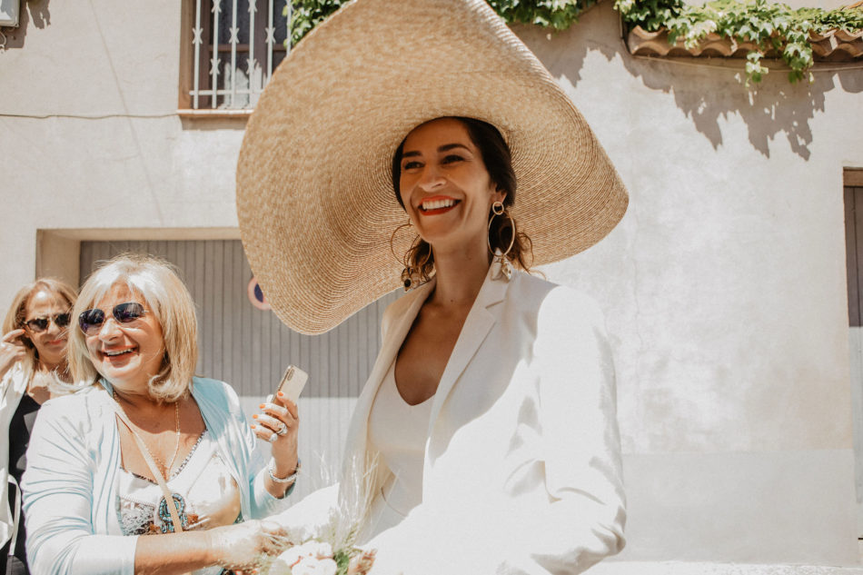 jacquemus bride smiling