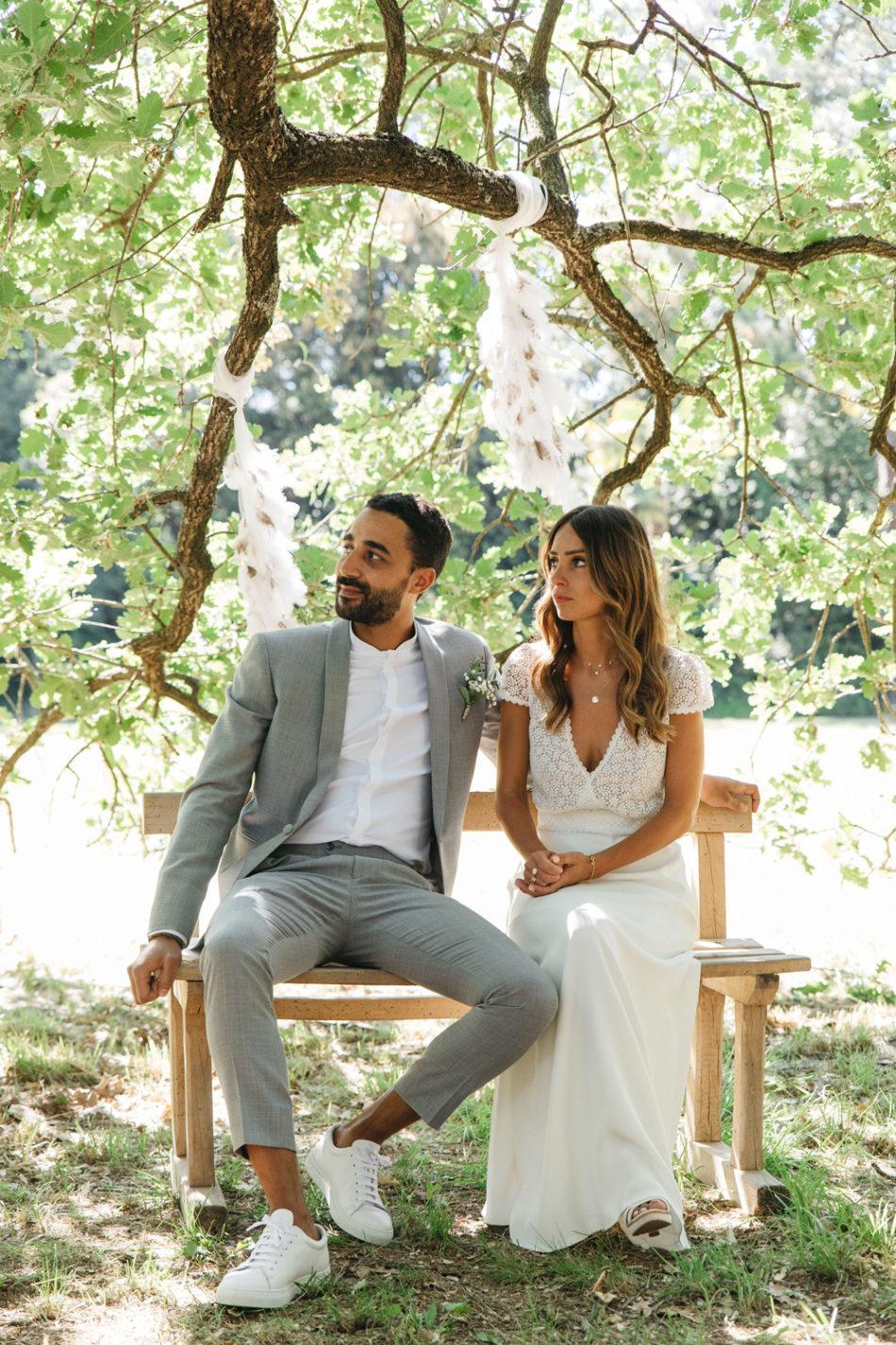 un mariage simple authentique, mariage champetre a bezier