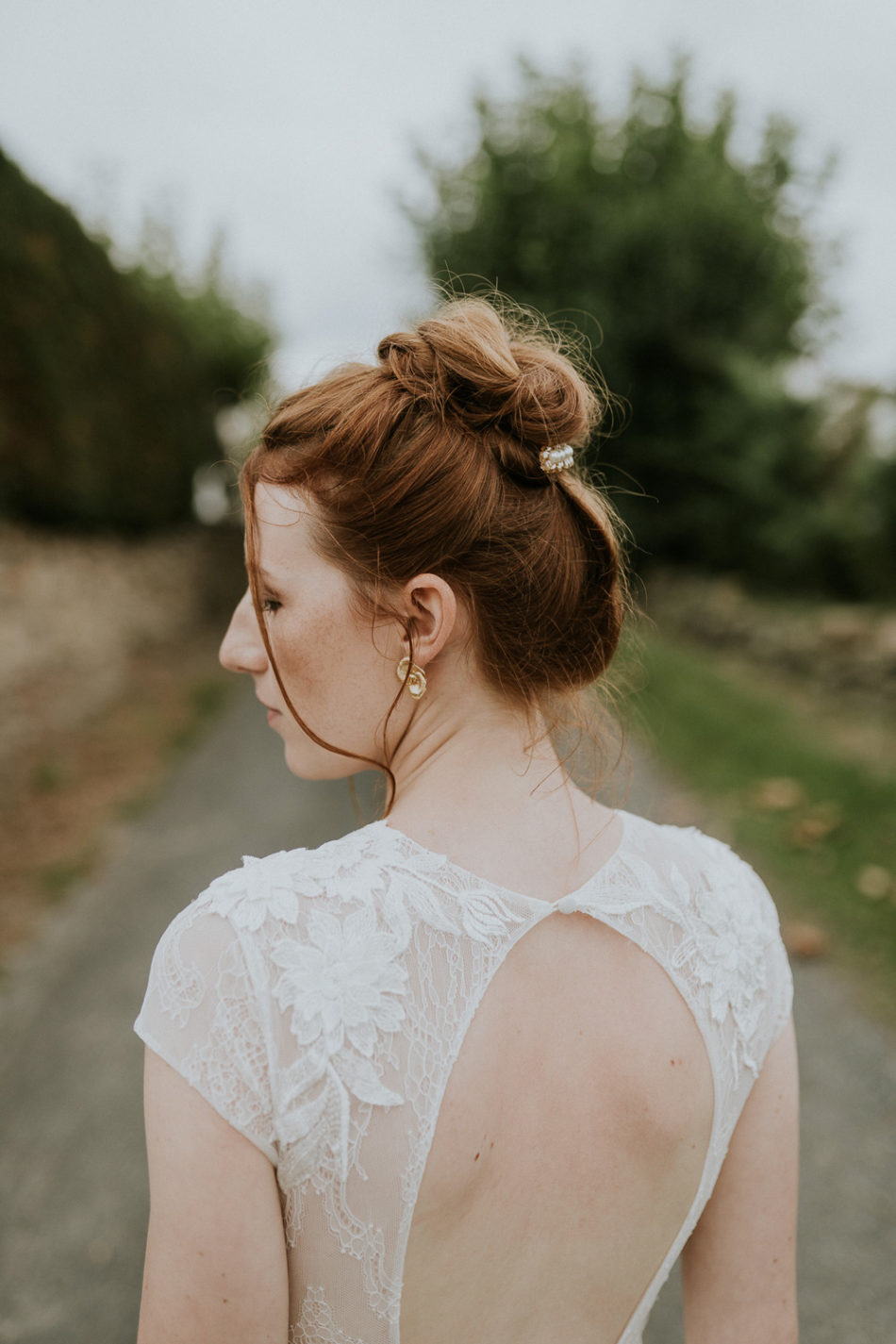 coiffure de mariage contemporain et moderne