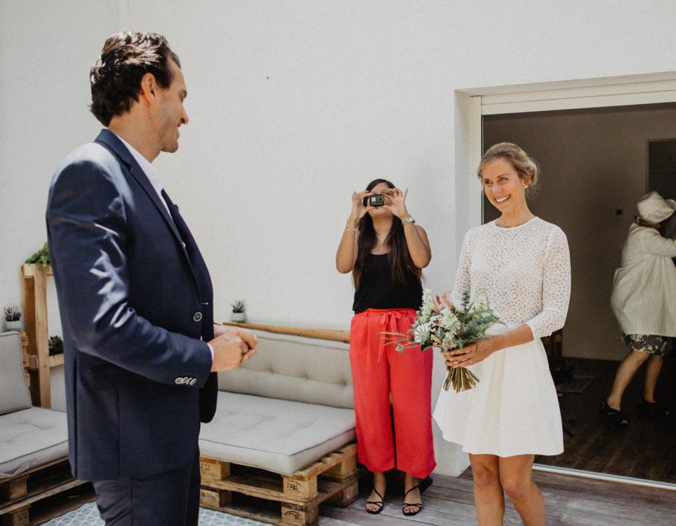 mariage robe courte