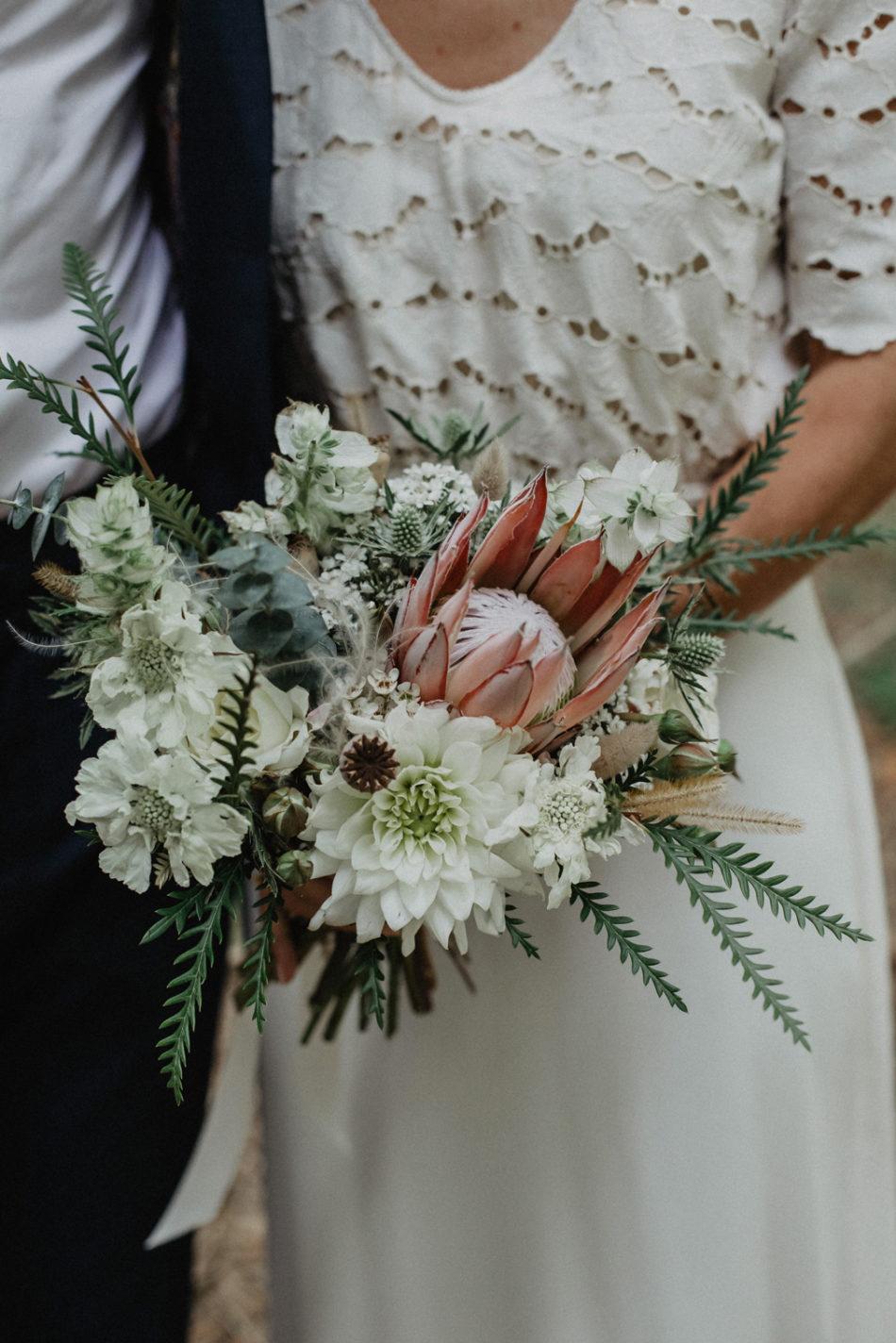 Fleuriste mariage coco barn