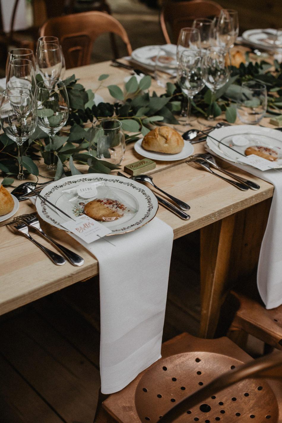 deco de table mariage boheme