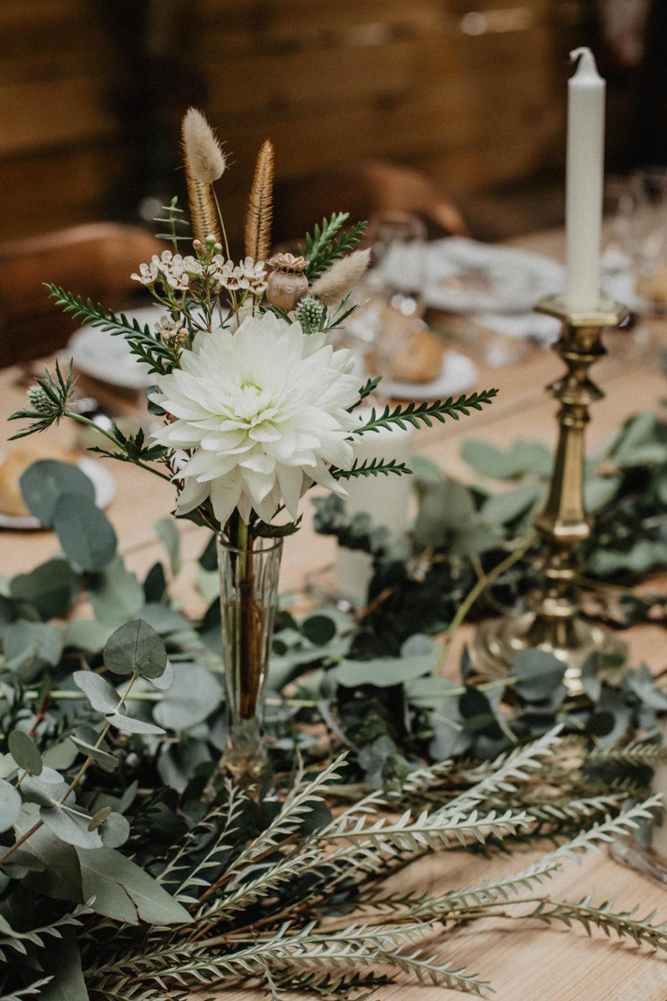 mariage boheme eucalyptus