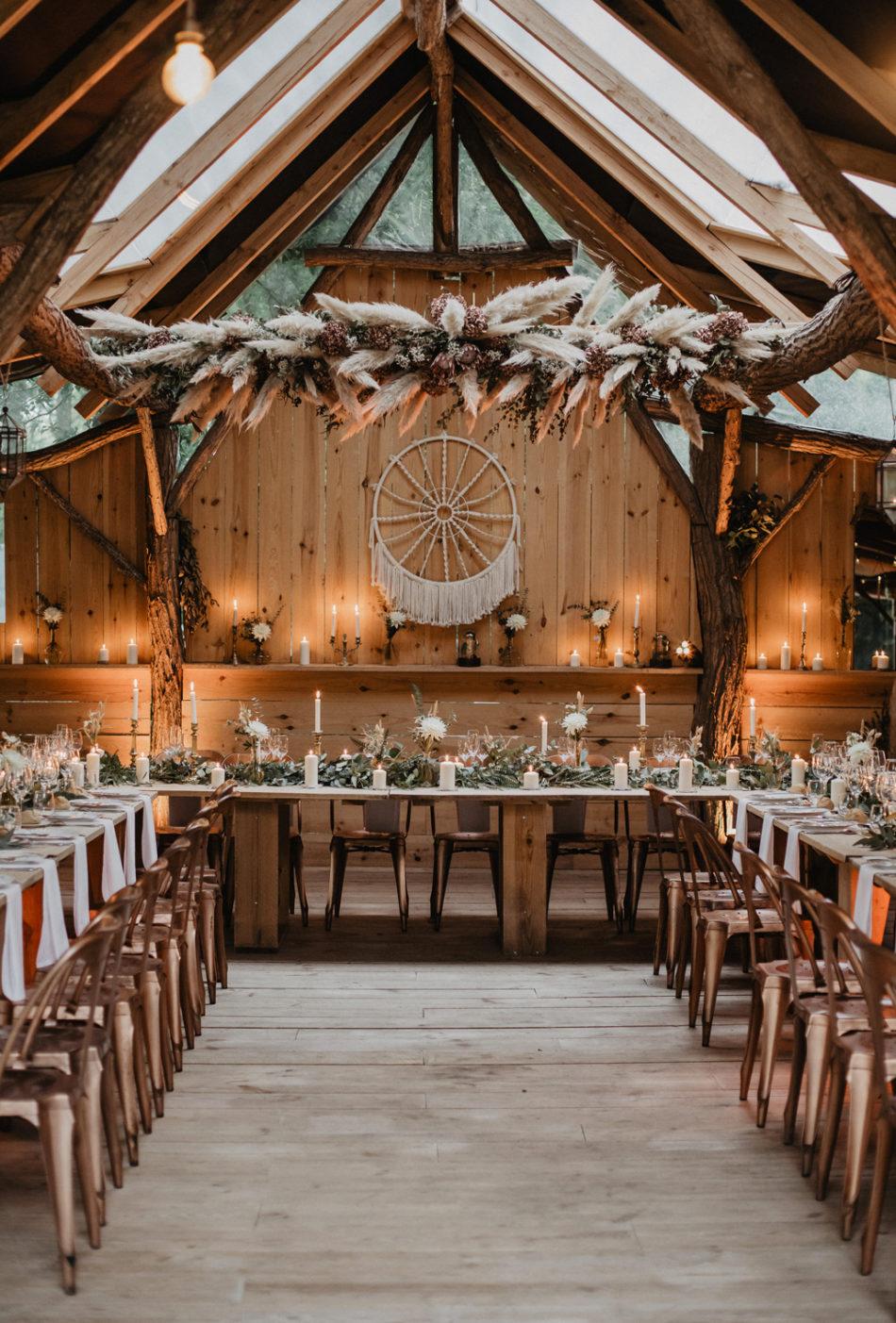 un mariage bohème au coco barn wood lodge a hossegor dans les landes