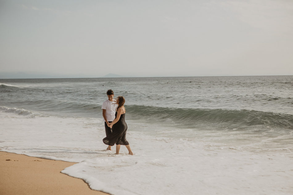 seance de couple a hossegor, les hortensias du lac