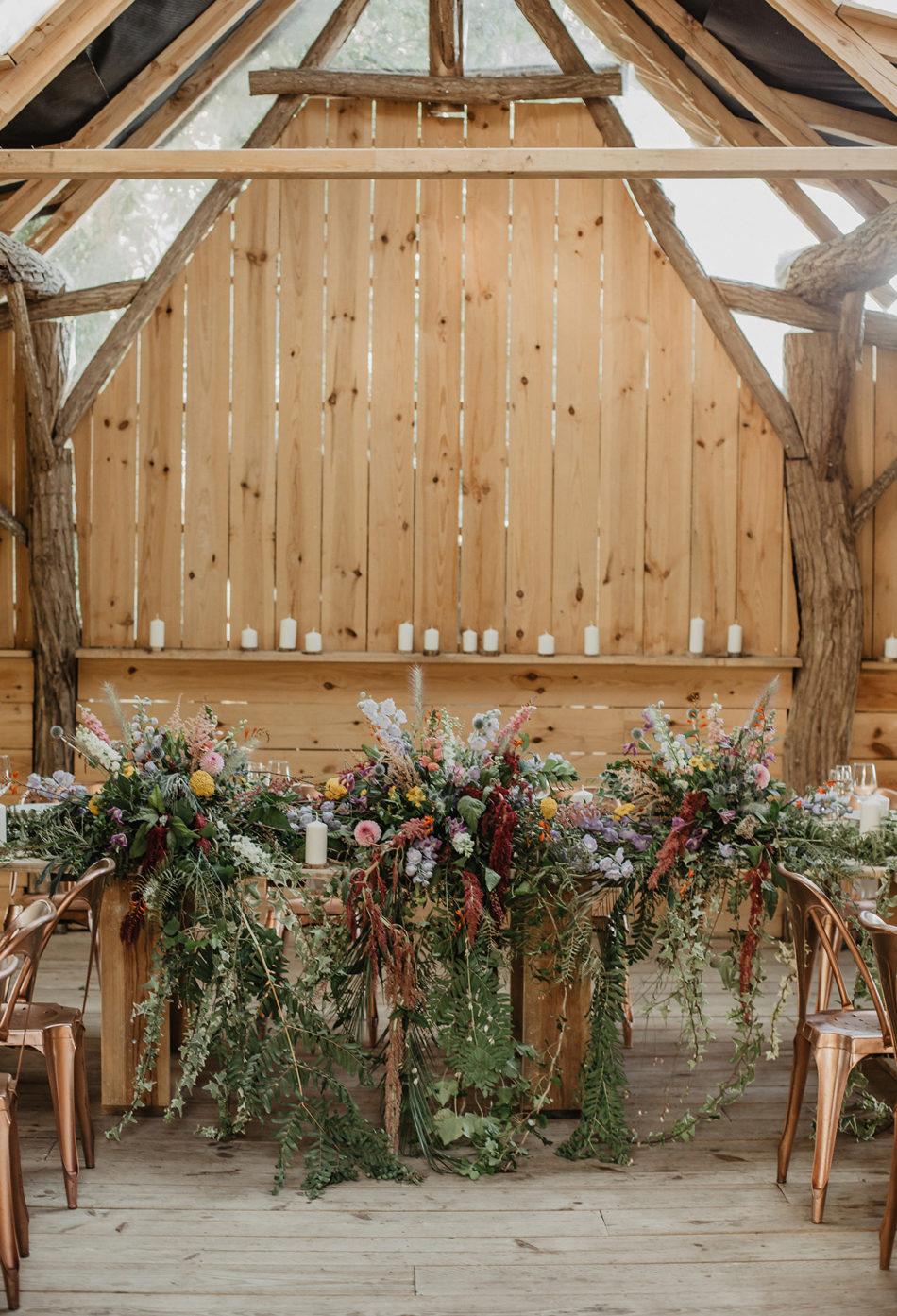 table des mariées au cocobarn